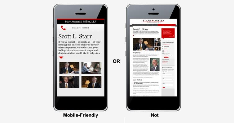 Création Site Adapté aux Mobiles